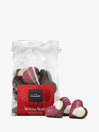 Hotel Chocolat Melting Hearts Milk Chocolate, 100g
