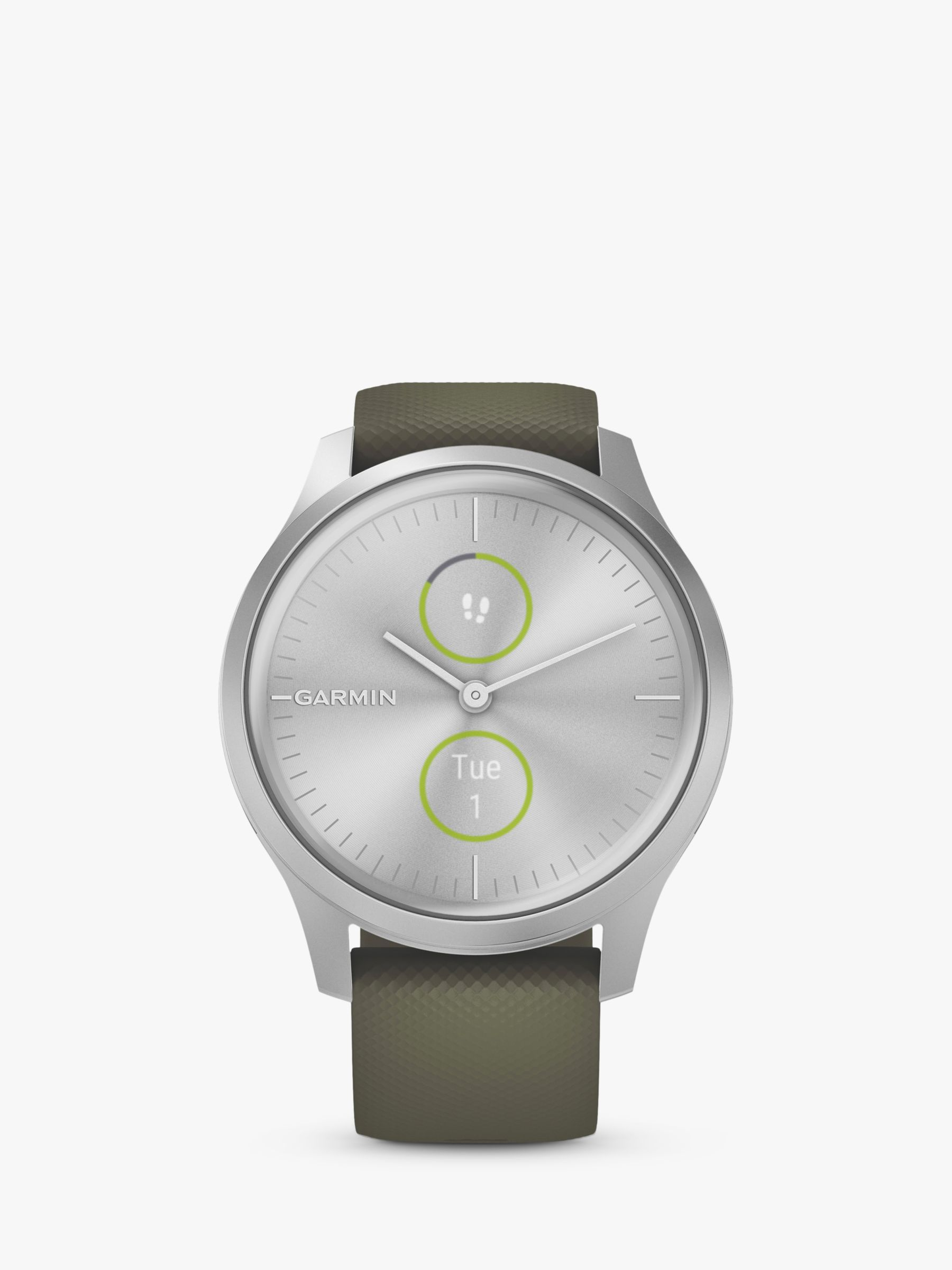 Garmin Garmin vivomove Style Smartwatch with Silicone Band