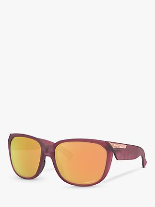 Oakley OO9432 Women's Rev Up Prizm Sunglasses, Dark Pink/Mirror Orange