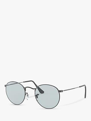 Ray-Ban RB3447 Men's Round Metal Sunglasses