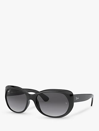 Ray-Ban RB4325 Women's Polarised Butterfly Sunglasses