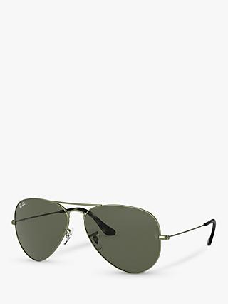 Ray-Ban RB3025 Unisex Aviator Sunglasses