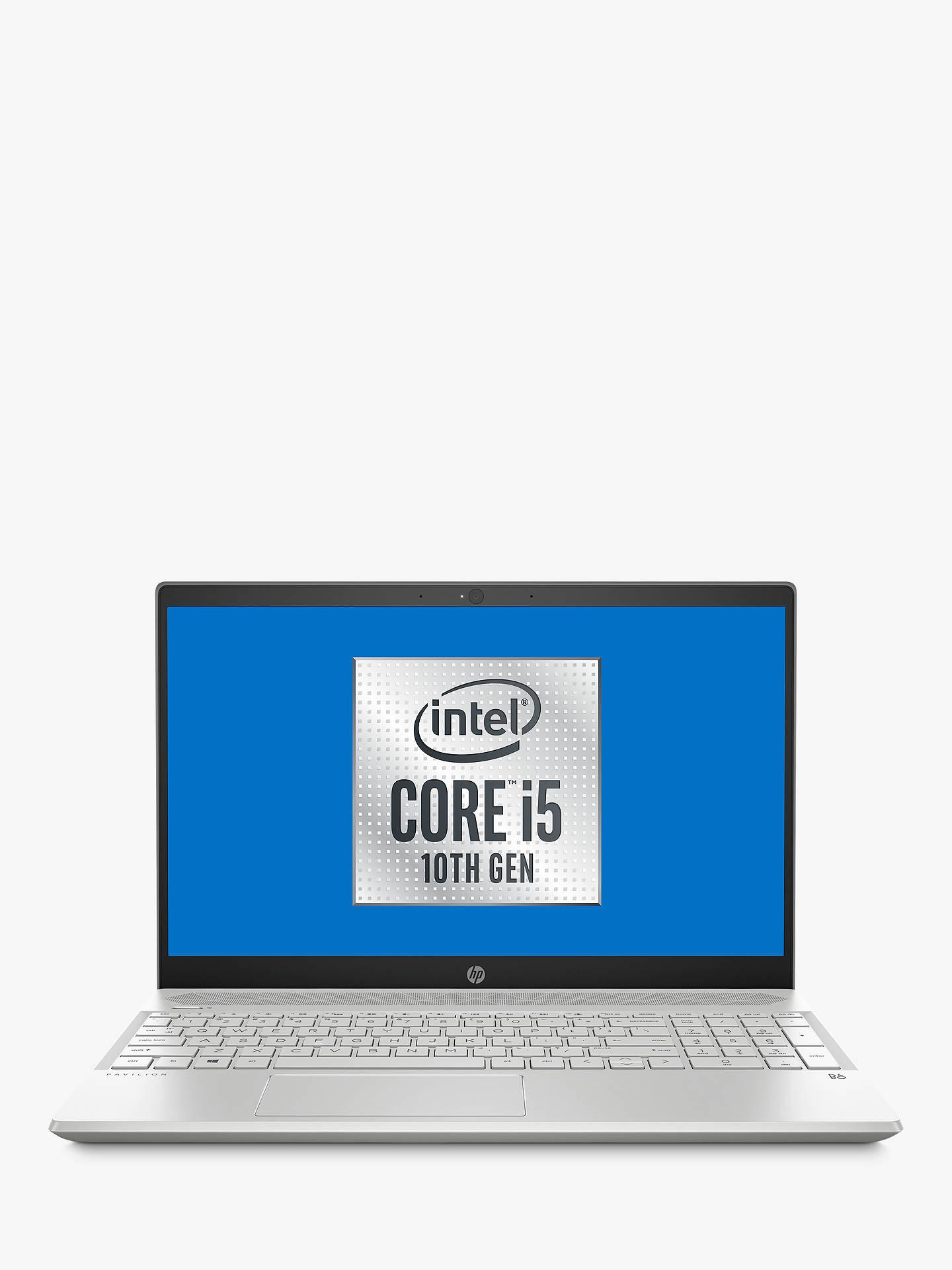 Hp Pavilion 15 Cs3001na Laptop Intel Core I5 Processor 8gb Ram 512gb Ssd 15 6 Full Hd Mineral Silver At John Lewis Partners