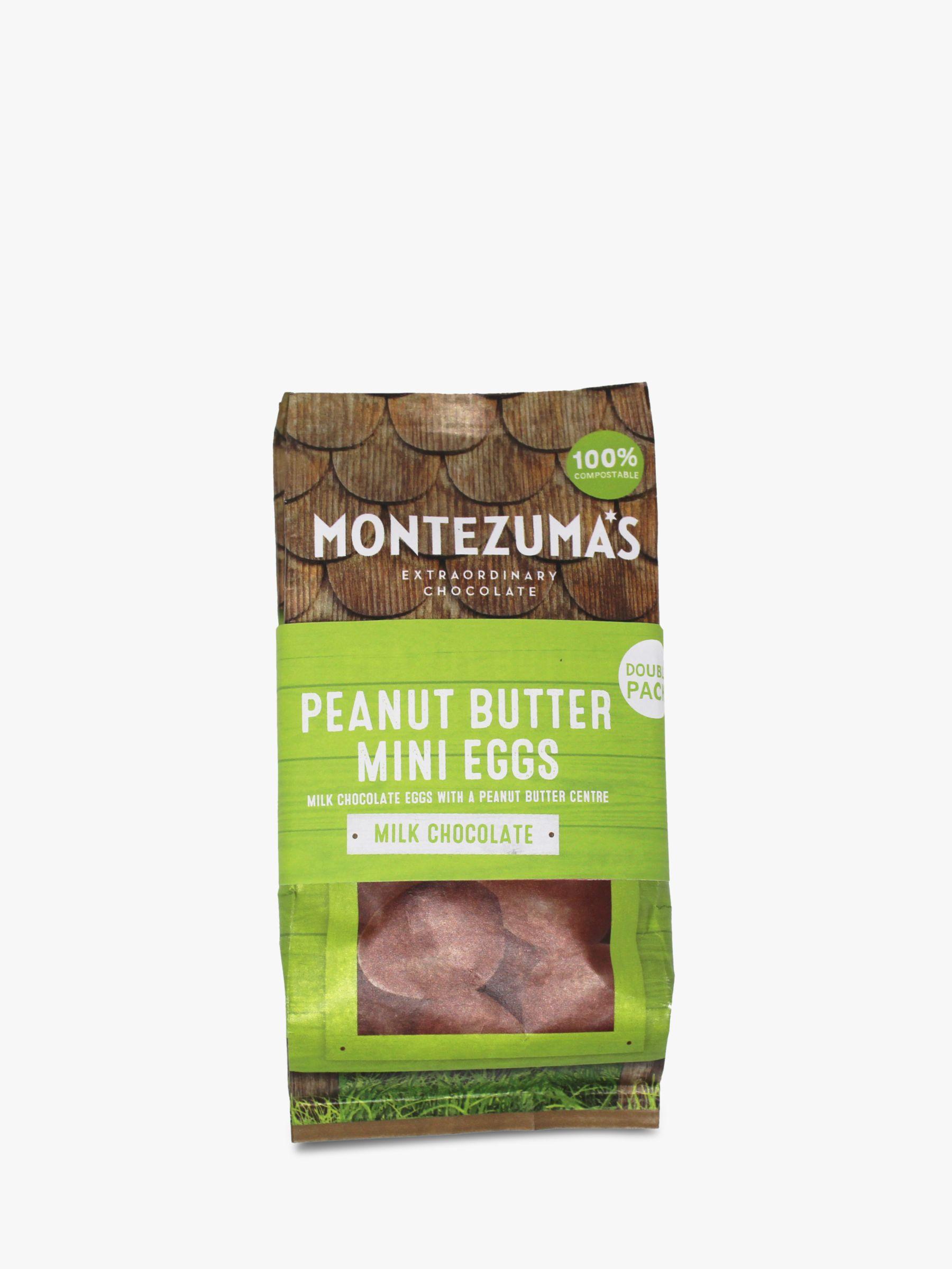 Montezuma's Montezuma's Milk Chocolate Peanut Butter Mini Eggs, Pack of 2, 300g