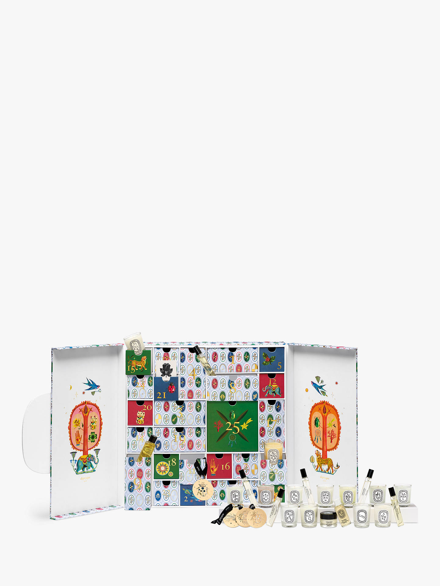 Buy Diptyque Beauty Advent Calendar Online at johnlewis.com