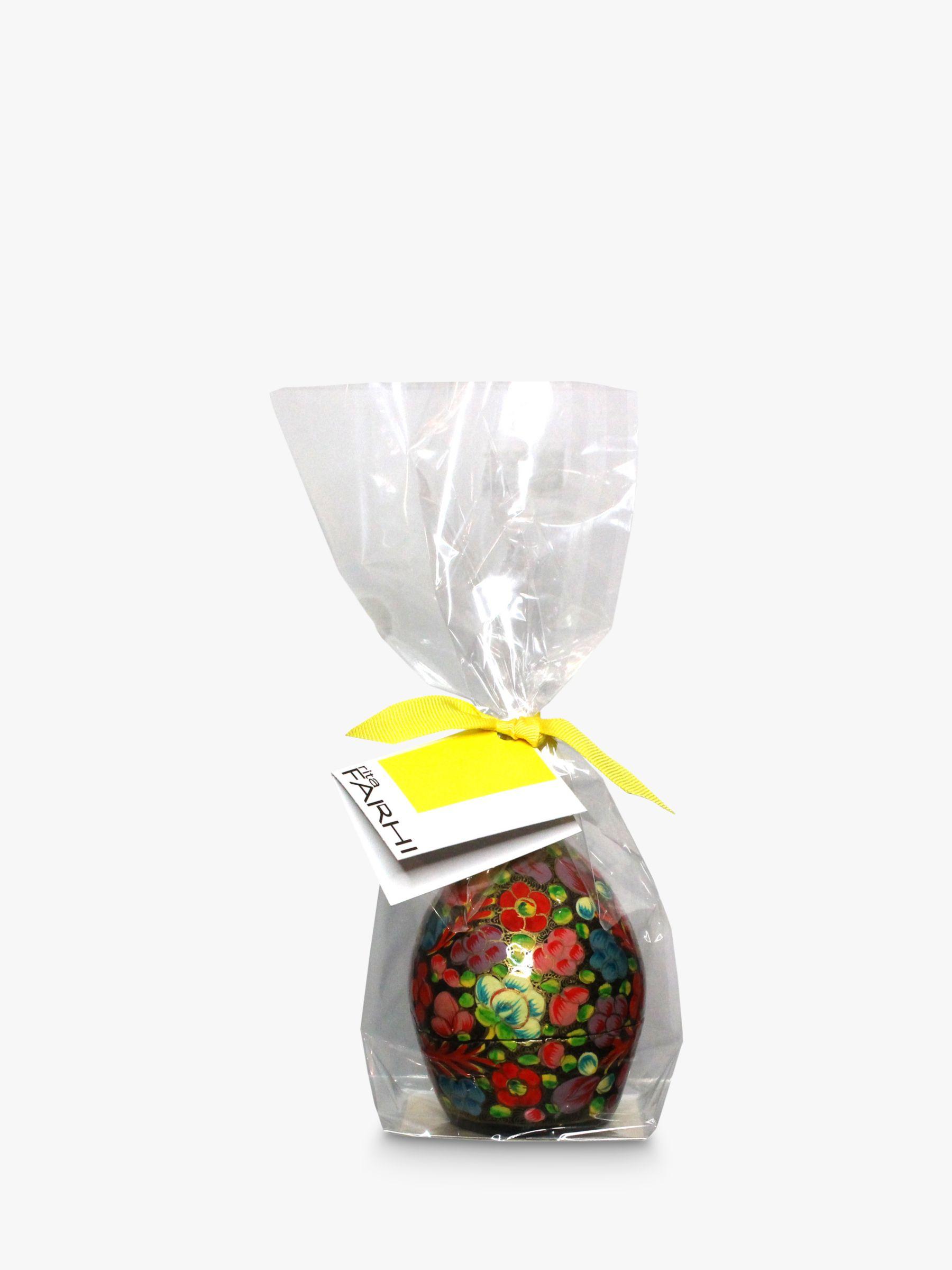 Farhi Farhi Papier Mache Easter Egg, Red, 40g
