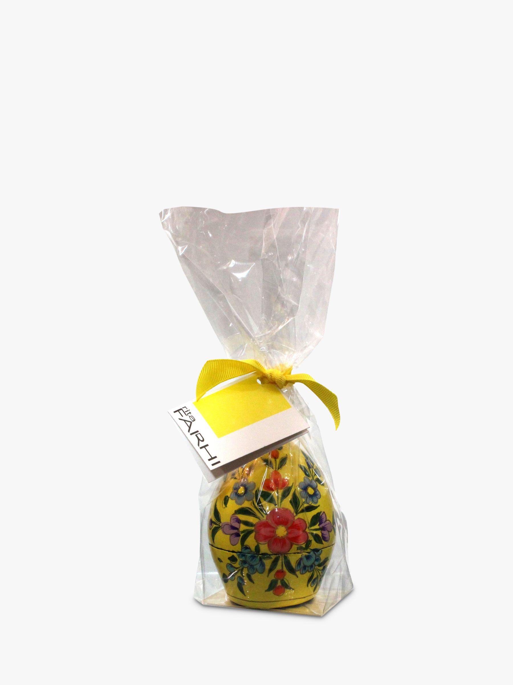Farhi Farhi Papier Mache Easter Egg, Yellow, 40g