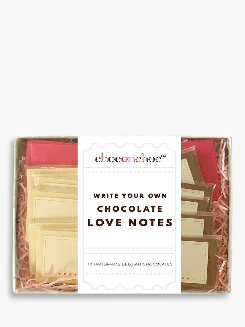 Choc on Choc Choc on Choc Write Your Own Chocolate Love Notes, 216g