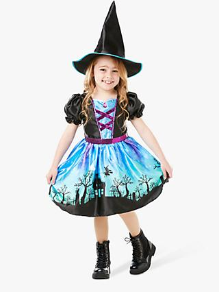 Moonlight Witch Children's Costume, 5-6 years