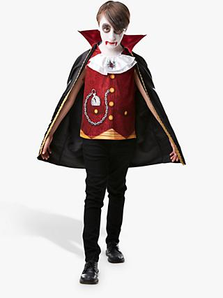 Vampire Boy Children's Costume, 3-4 years
