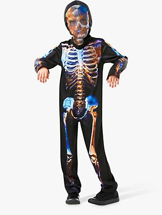 Glowing Skeleton Children's Costume, 5-6 years