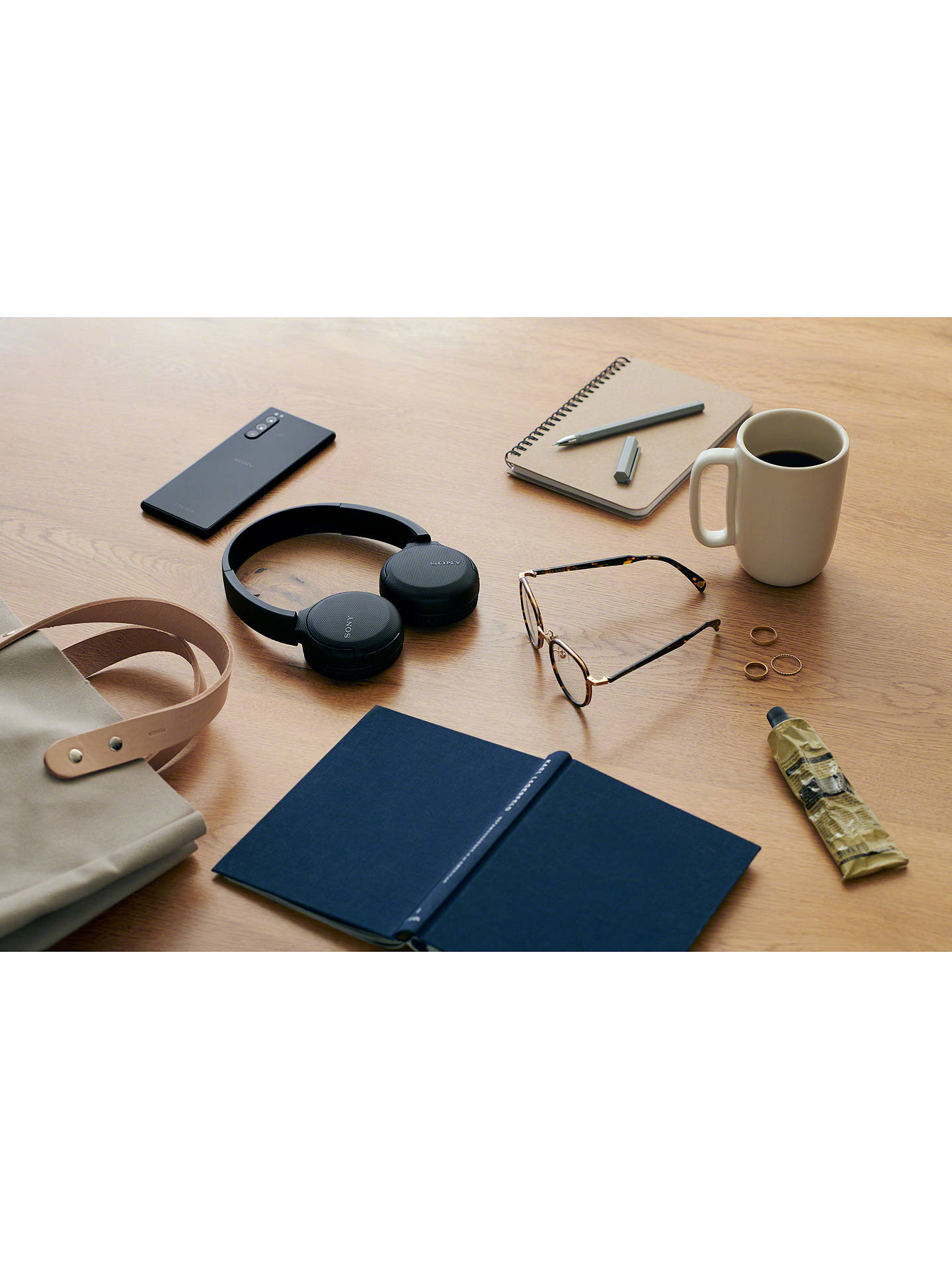 Buy Sony WH-CH510 Bluetooth Wireless On-Ear Headphones with Mic/Remote, Black Online at johnlewis.com