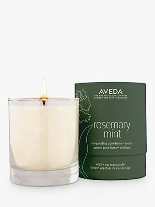 Aveda Rosemary Mint Vegan Soy Wax Candle, 100g