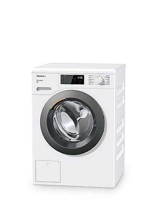Miele WED125 Washing Machine, 8kg Load, 1400rpm, A+++ Energy Rating, White
