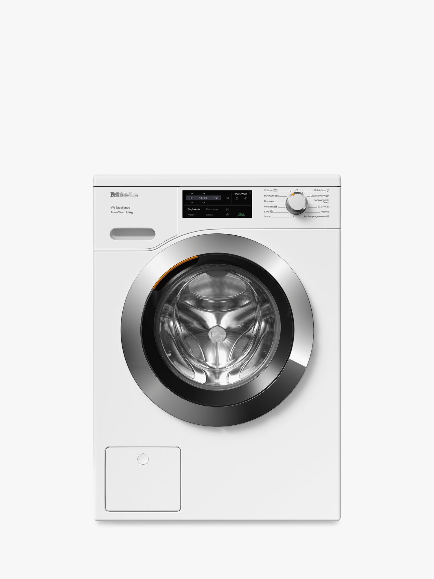 Miele Miele WEG365 Freestanding Washing Machine, 9kg Load, 1400rpm, A+++ Energy Rating, White