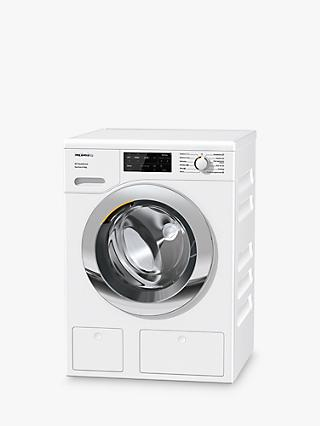 Miele WEG665 Freestanding Washing Machine, 9kg Load, 1400rpm Spin, White