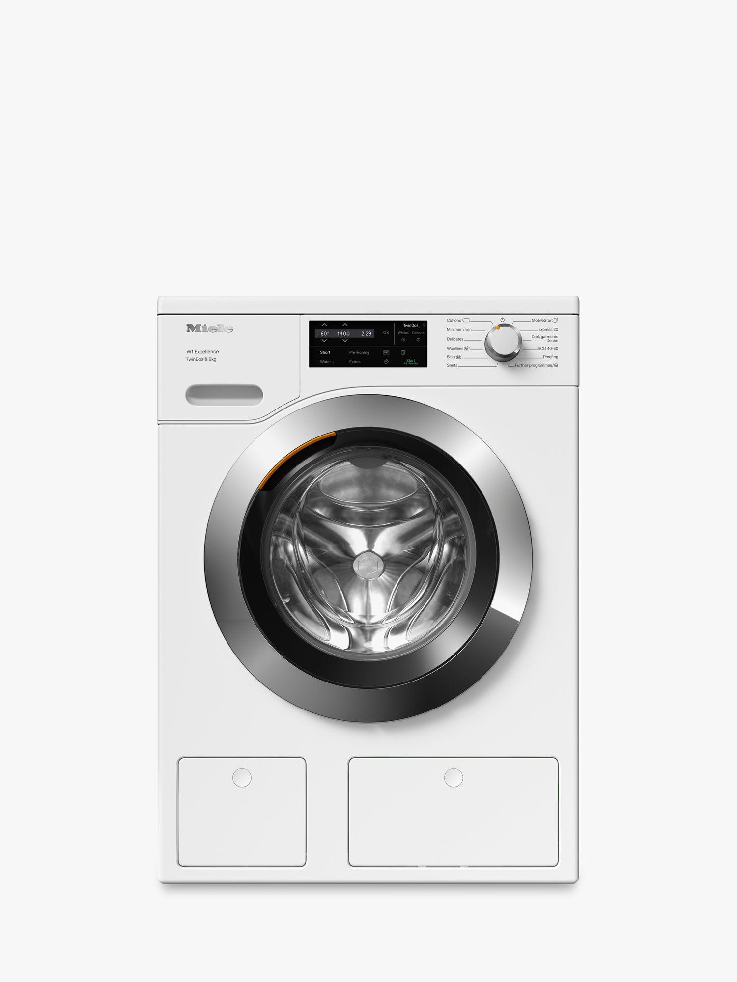 Miele Miele WEG665 Freestanding Washing Machine, 9kg, 1400rpm, A+++ Energy Rating, White