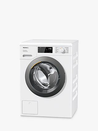 Miele WED325 Freestanding Washing Machine, 8kg Load, 1400rpm Spin, White