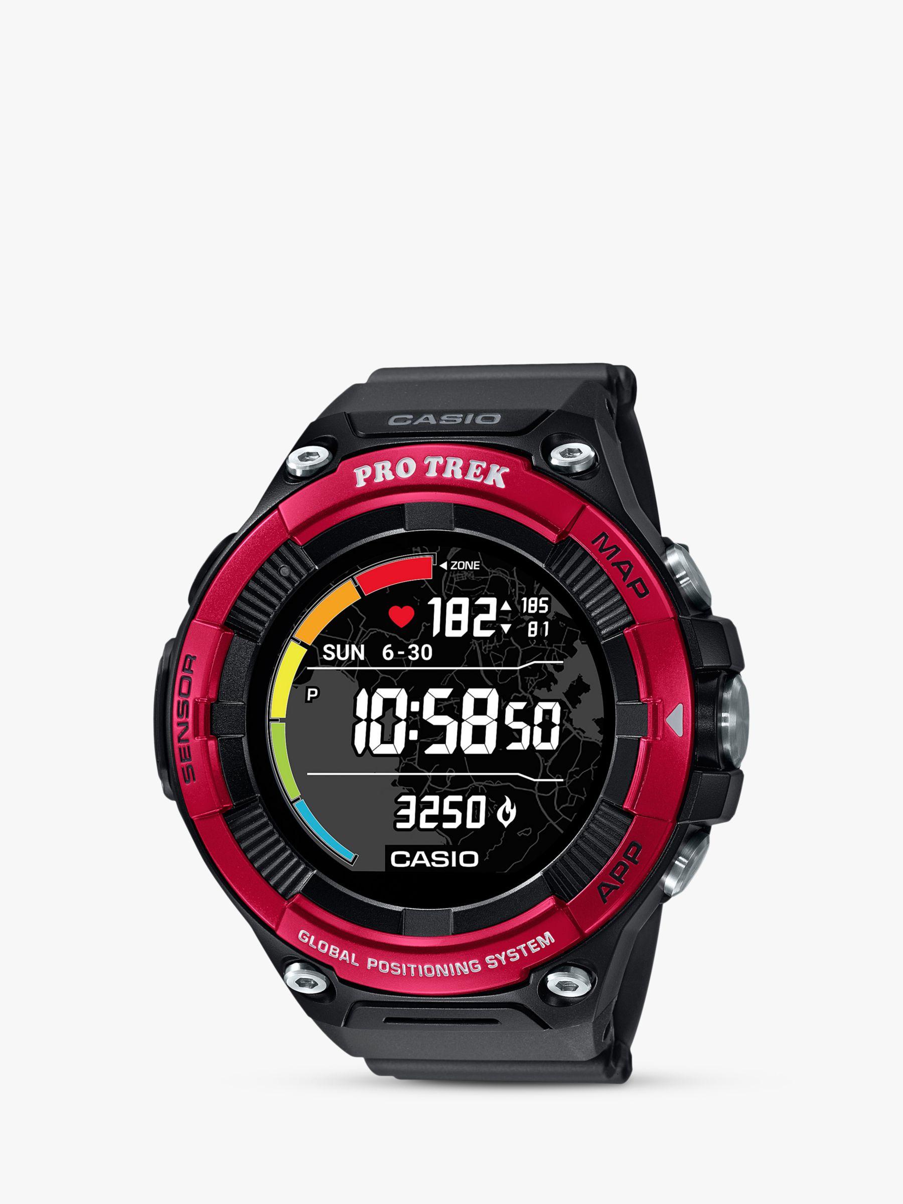 Casio Casio Unisex ProTrek Smart 21 Bluetooth GPS Touch Screen Resin Strap Watch