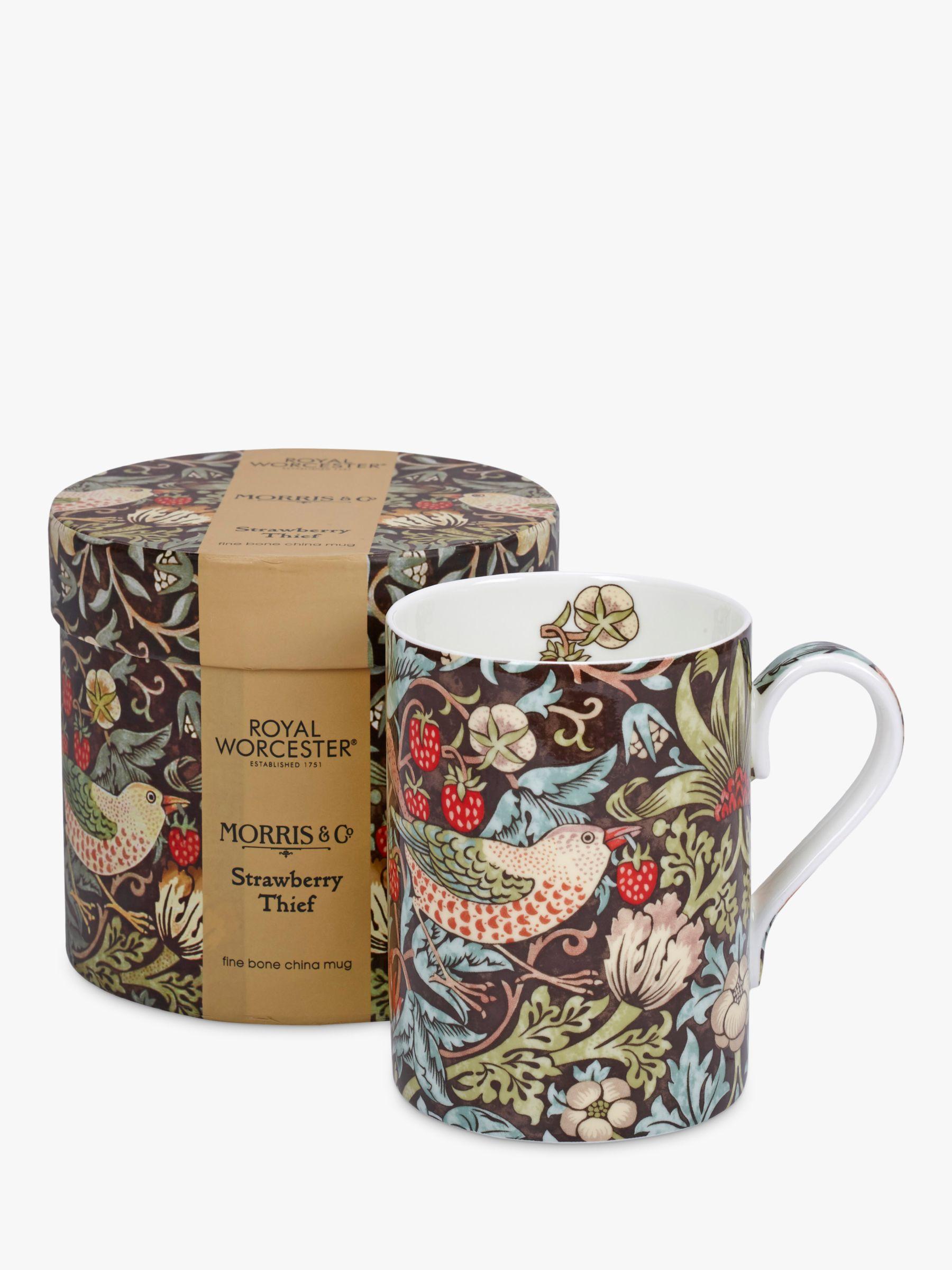 Morris & Co. Strawberry Thief Mug, 350ml
