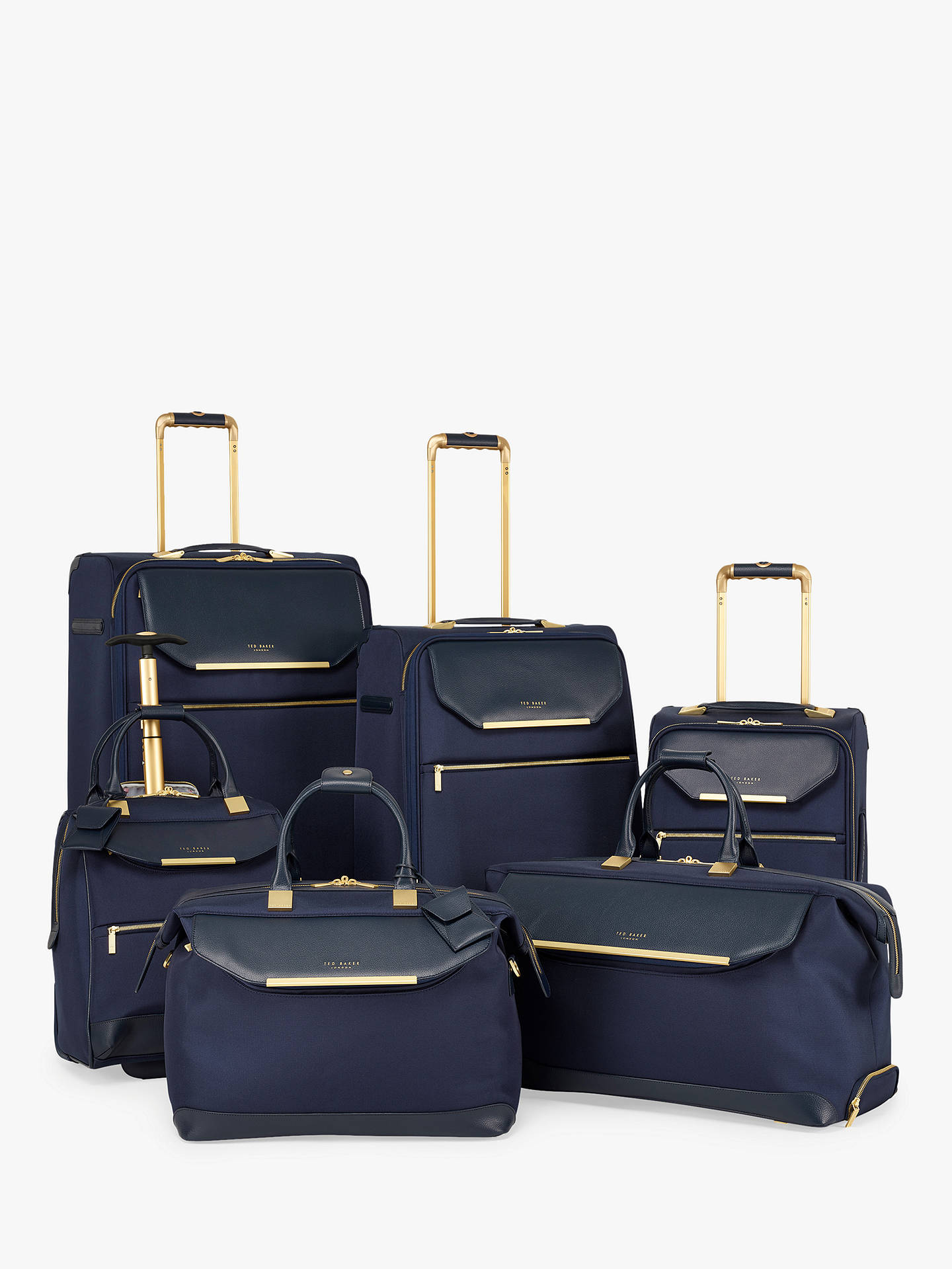 Buy Ted Baker Albany Holdall, Navy Online at johnlewis.com
