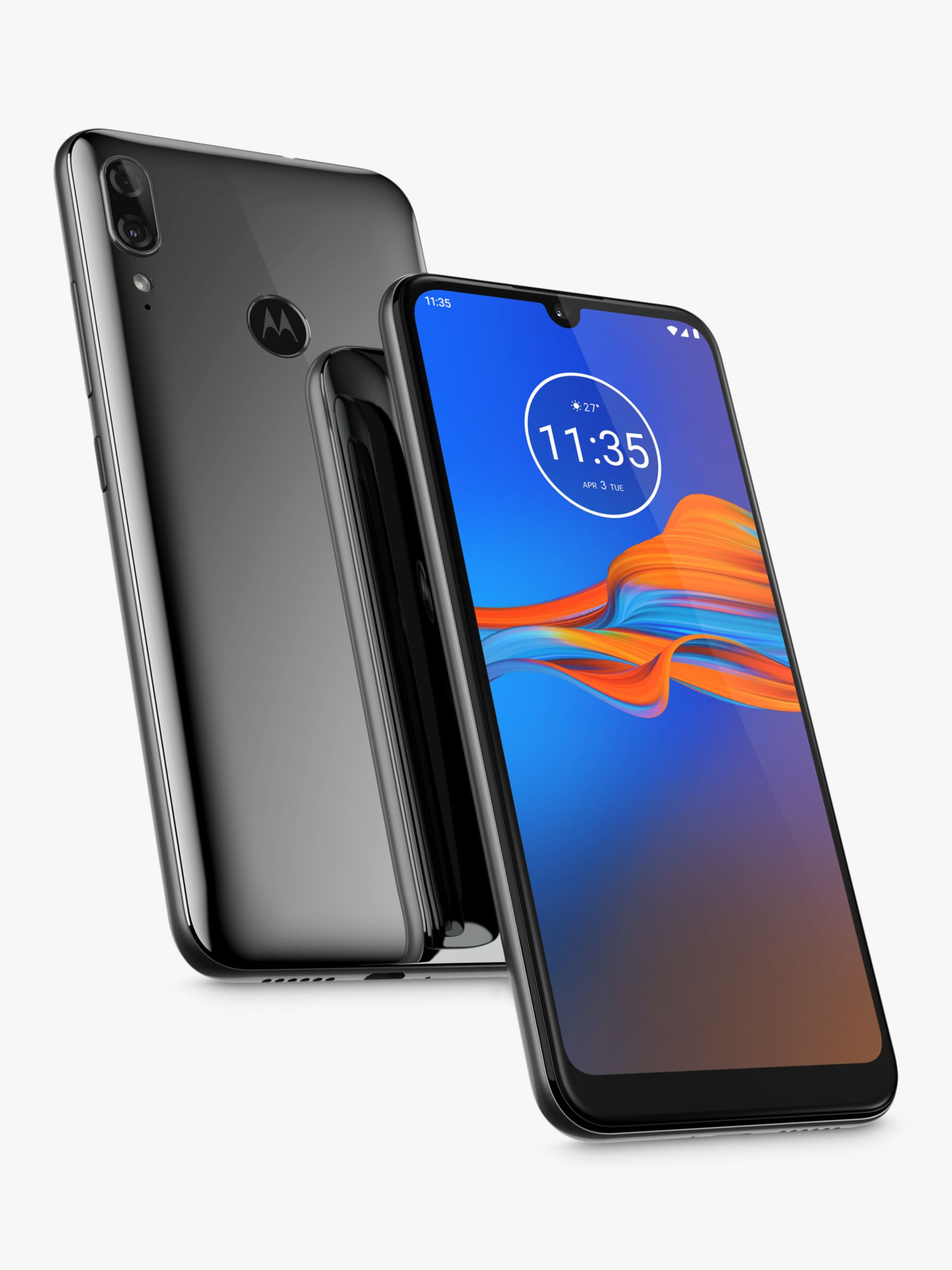 Motorola Motorola E6 Plus Smartphone, Android, 6.1, 4G LTE, SIM Free, 32GB