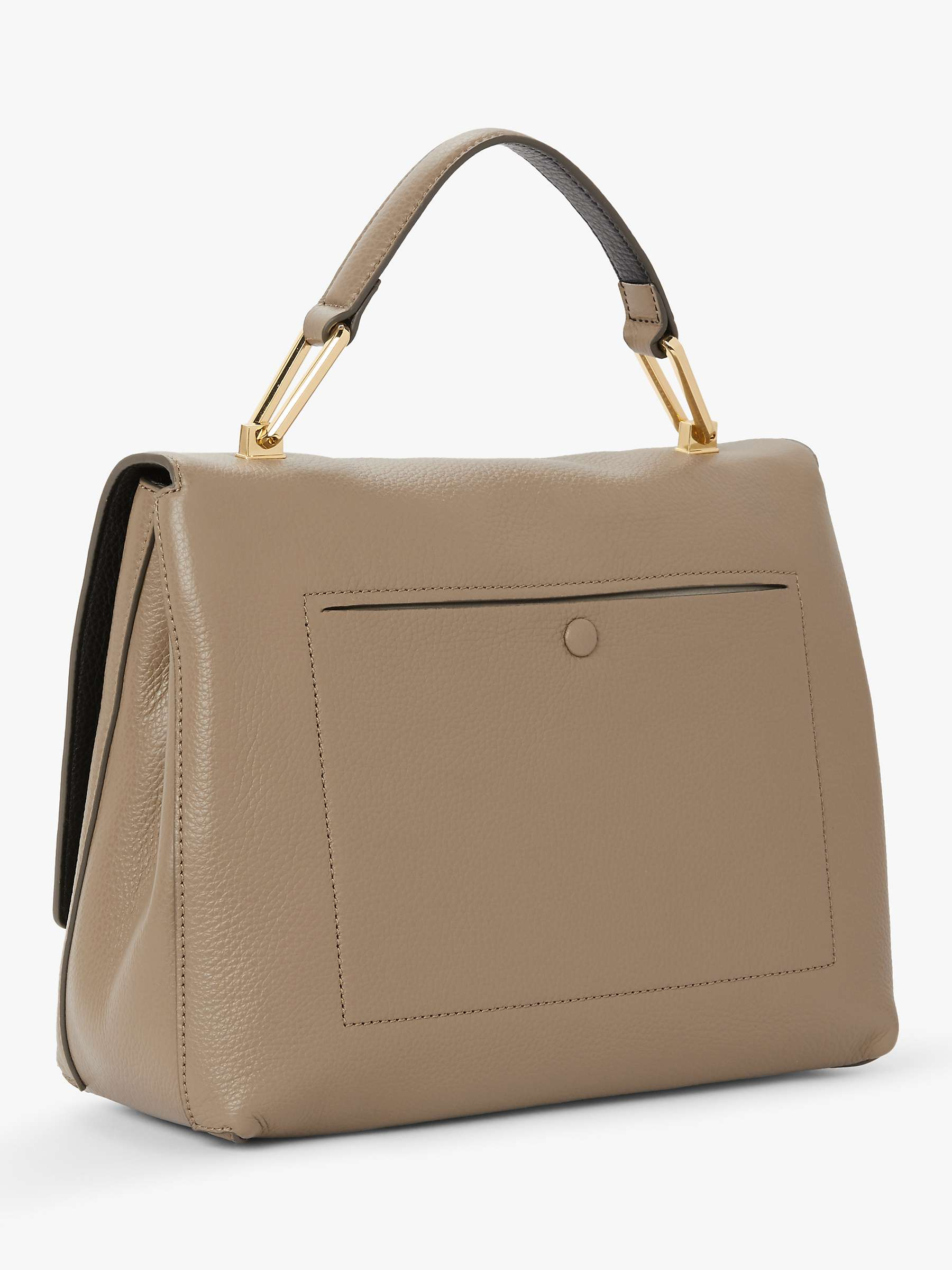 wie man bestellt beste Qualität für am besten bewerteten neuesten Coccinelle Liya Iconic Leather Shoulder Bag, Taupe at John ...