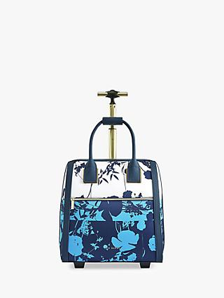 Ted Baker Astterr Floral Travel Bag, Blue/White
