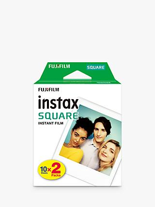 Fujifilm Instax SQUARE Film, 20 Shots