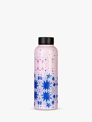 T2 Eleganza Stainless Steel Leak-Proof Infuser Flask, 500ml, Pink/Blue