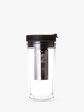 T2 Explorer Infuser Travel Mug, 500ml, Black