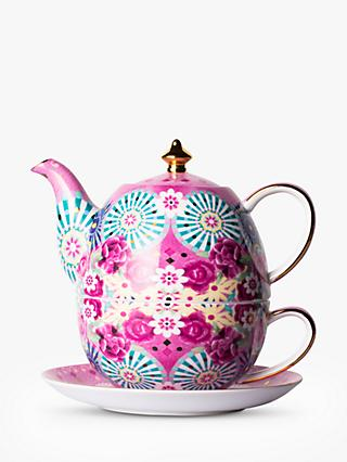 T2 Eleganza Teapot For One, 520ml, Flamingo Pink