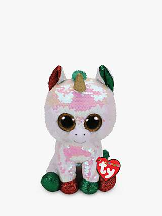 Ty Flippables Stardust Unicorn Soft Toy