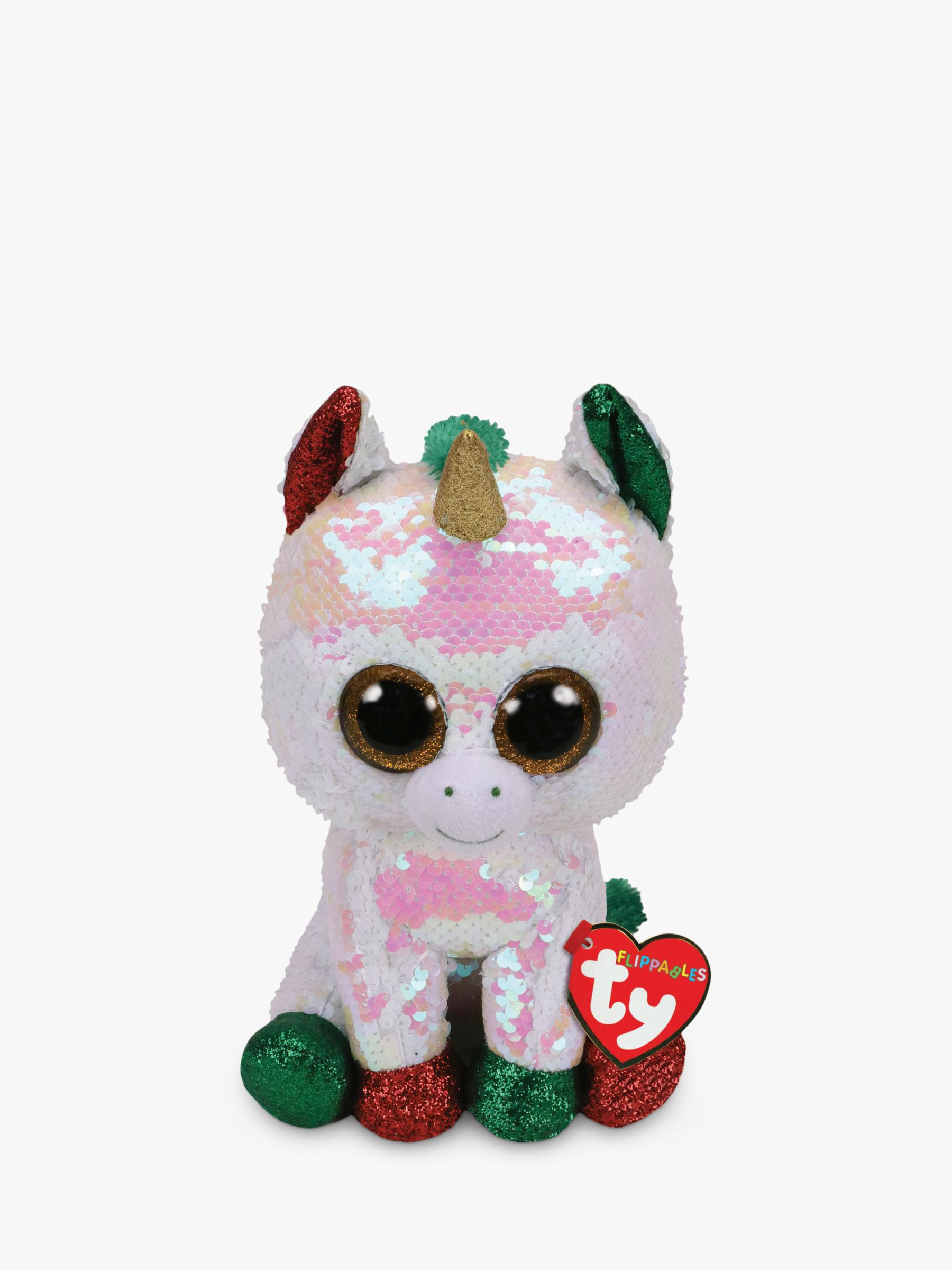 Ty Ty Flippables Stardust Unicorn Soft Toy