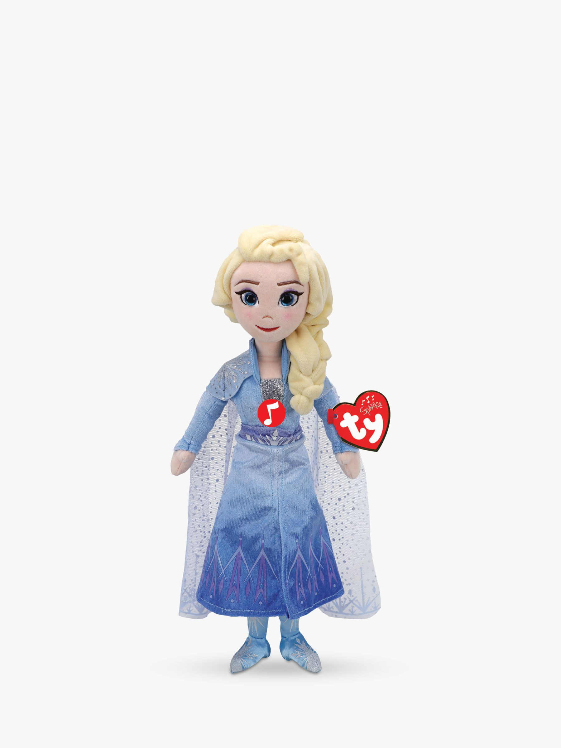 Ty Ty Disney Frozen II Queen Elsa Soft Toy