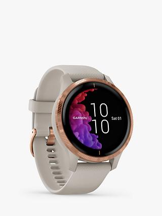 Garmin Venu Smartwatch with Silicone Band