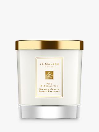 Jo Malone London Pine & Eucalyptus Scented Home Candle, 200g