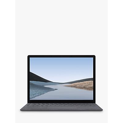 Image of Microsoft Surface Laptop 3, Intel Core i5 Processor, 8GB RAM, 128GB SSD, 13.5 PixelSense Display, Platinum