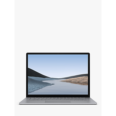 Image of Microsoft Surface Laptop 3, AMD Ryzen 5 Processor, 16GB RAM, 256GB SSD, 15 PixelSense Display, Platinum