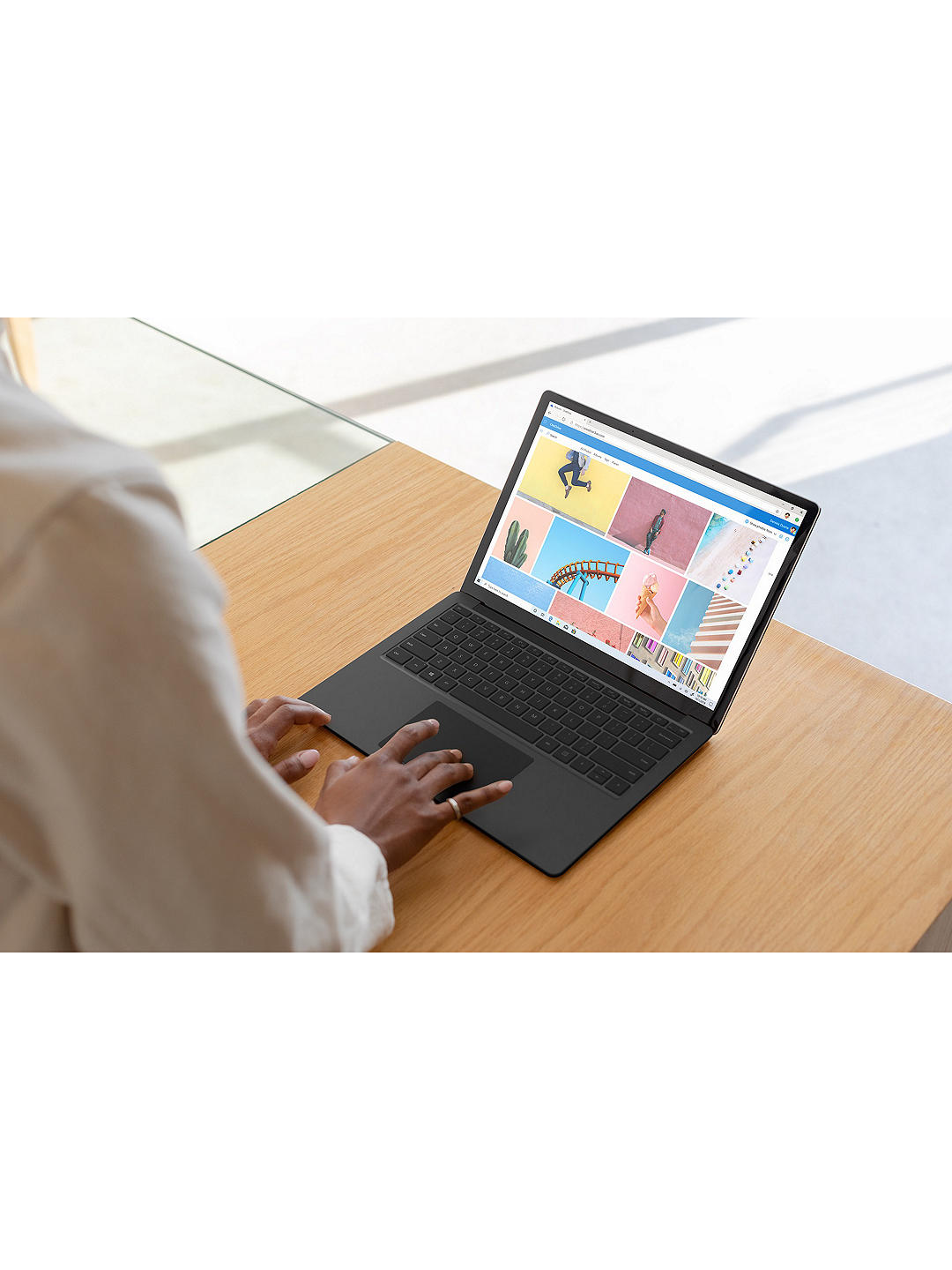 "Buy Microsoft Surface Laptop 3, Intel Core i7 Processor, 16GB RAM, 256GB SSD, 13.5"" PixelSense Display, Cobalt Blue Online at johnlewis.com"