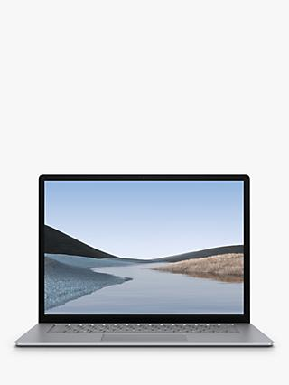 "Microsoft Surface Laptop 3, AMD Ryzen 5 Processor, 8GB RAM, 128GB SSD, 15"" PixelSense Display, Platinum"
