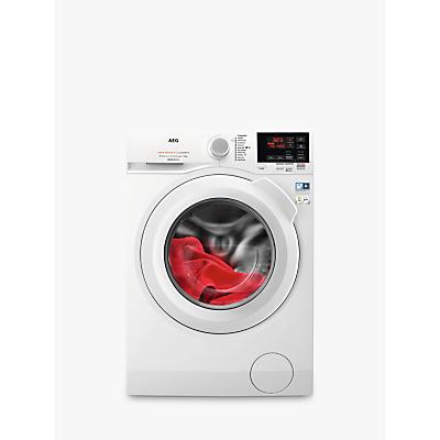 AEG L6FBG841CA 6000 Washing Machine, 8kg Load, A+++ Energy Rating, 1400rpm, White