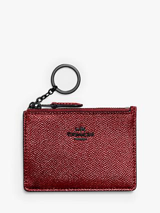 Coach Mini ID Skinny Leather Purse