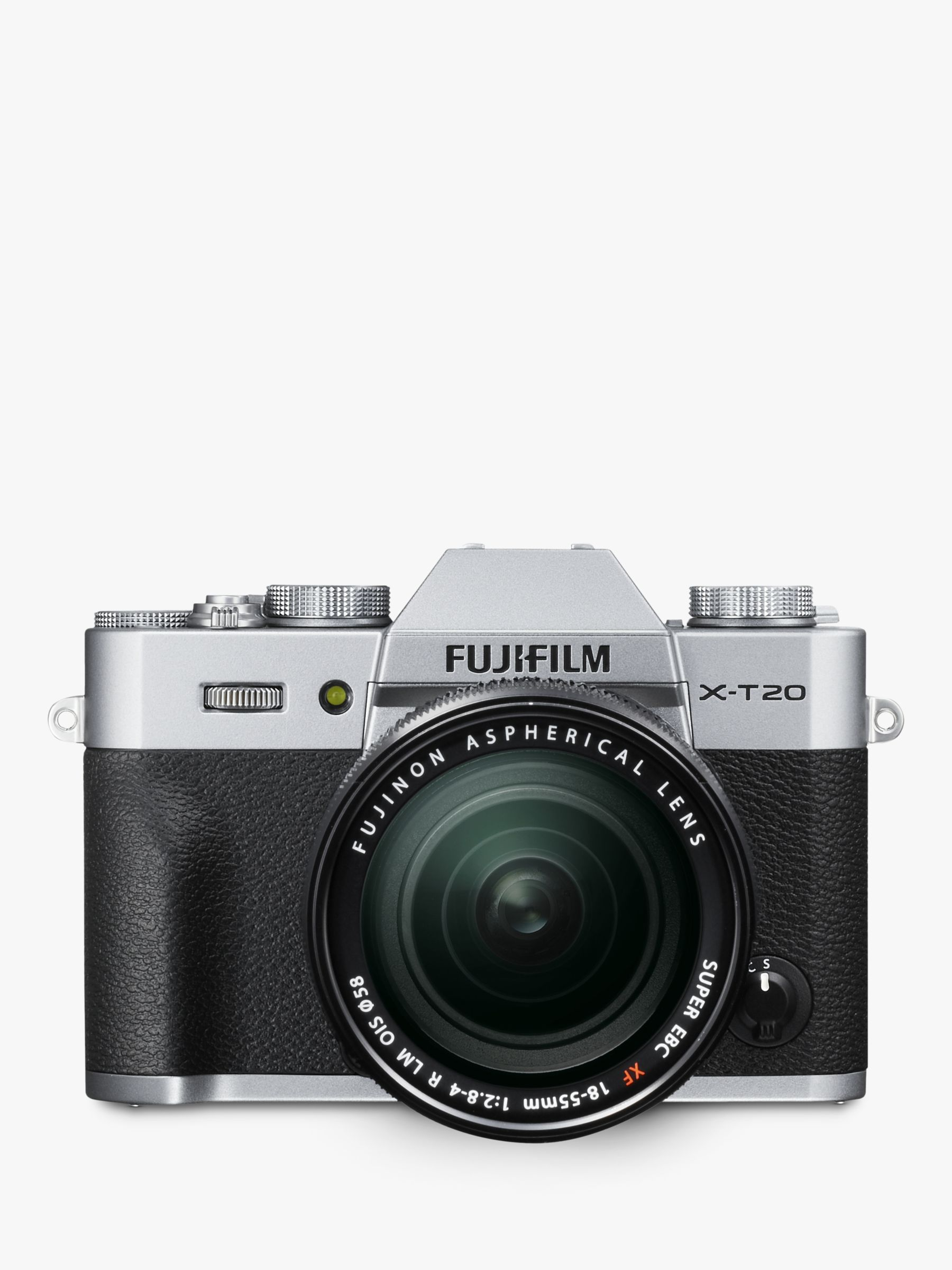 "Fujifilm Fujifilm X-T20 Compact System Camera with XF 18-55mm OIS Lens, 4K Ultra HD, 24.3MP, Wi-Fi, OLED EVF, 3"" Tiltable LCD Touch Screen"