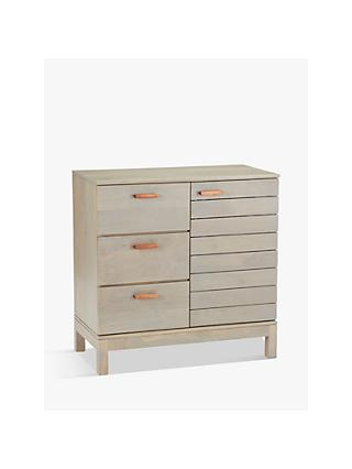 John Lewis & Partners Asha Small Sideboard, Grey