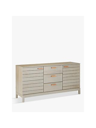 John Lewis & Partners Asha Large Sideboard, Grey