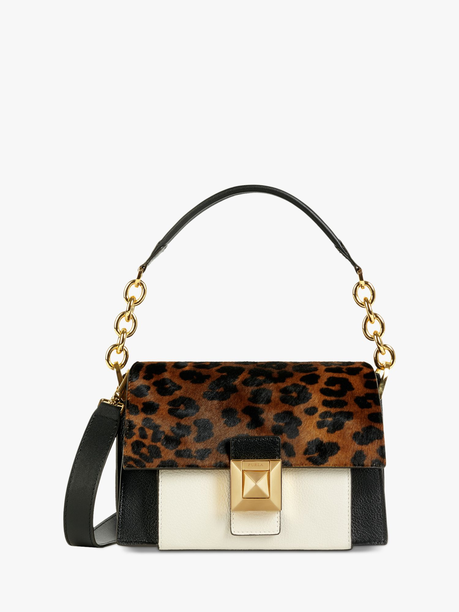 Furla Furla Diva Mini Leather Shoulder Bag