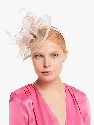 John Lewis & Partners Maya Feathers and Loops Teardrop Fascinator