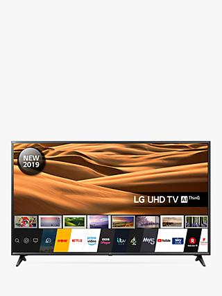 "LG 65UM7100PLA (2019) LED HDR 4K Ultra HD Smart TV, 65"" with Freeview Play/Freesat HD, Ultra HD Certified, Black"