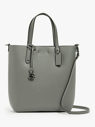 Coach Central Leather Shopper Bag